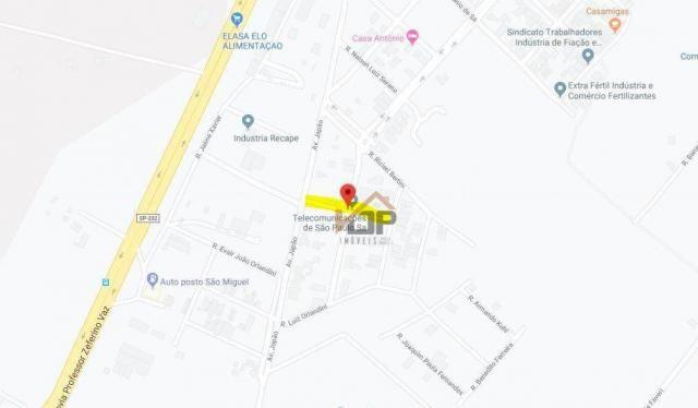 Terreno à venda, 1130 m² por r$ 261.252,01 - jardim novo tempo - artur nogueira/sp
