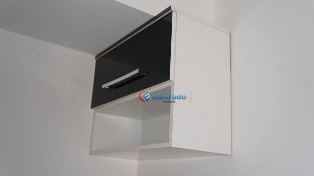 Apartamento com 2 dormitórios para alugar, 45 m² por r$ 550,00/mês - residencial guairá -  - Foto 11