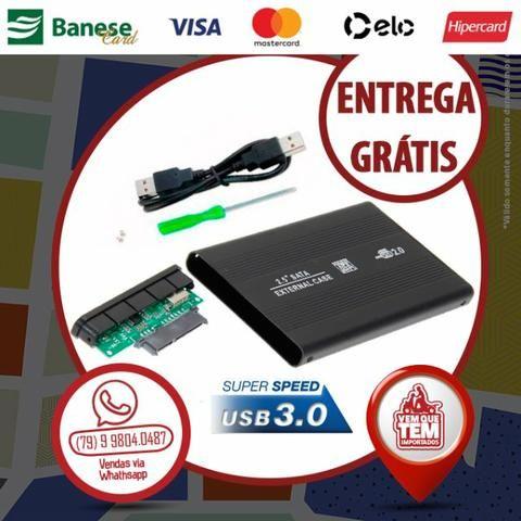 """Case para Hd de Notebook 2,5"""" Sata USB 3.0"""