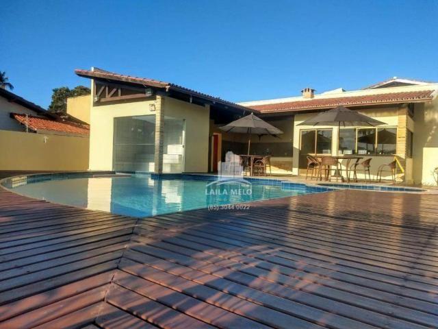 Casa plana na lagoa redonda,próximo a maestro lisboa,117 m2,3 quartos,lazer - Foto 5