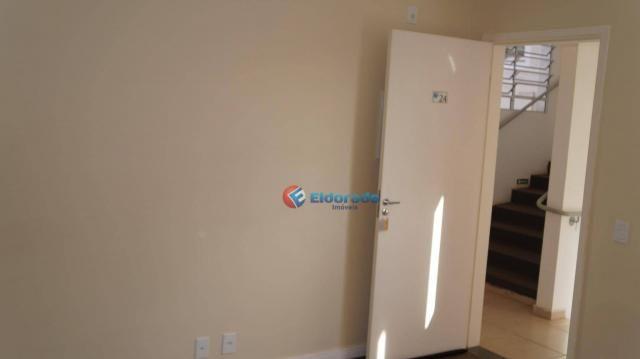 Apartamento com 2 dormitórios para alugar, 45 m² por r$ 550,00/mês - residencial guairá -  - Foto 5