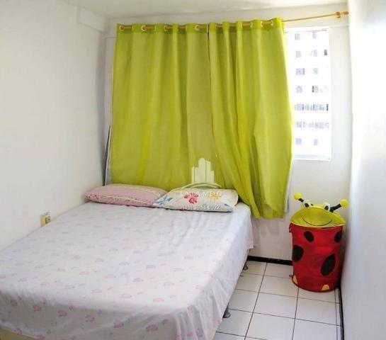 Apartamento com 3 dormitórios à venda, 53 m² próximo ao mega atacadista- cambeba - fortale - Foto 8