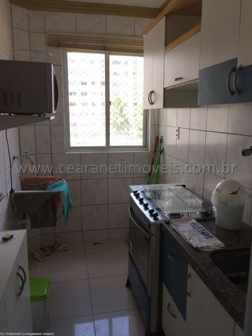 (Cod.:001 - Damas) - Mobiliado - Vendo Apartamento com 3 Quartos, 2 Vagas - Foto 6