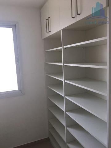 Apartamento villa bella mobiliado com 02 suítes; engenheiro luciano cavalcante, fortaleza - Foto 16