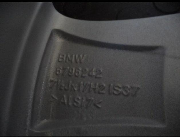 Jogo de rodas BMW 320i aro 17 - Foto 5