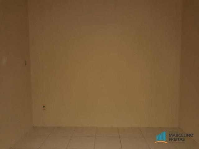 Casa com 2 dormitórios para alugar, 50 m² por r$ 659,00/mês - álvaro weyne - fortaleza/ce - Foto 9