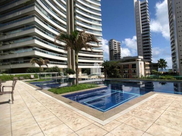 Apartamento no meireles,259 m2,4 quartos,4 vagas,lazer completo,paço do bem - Foto 3