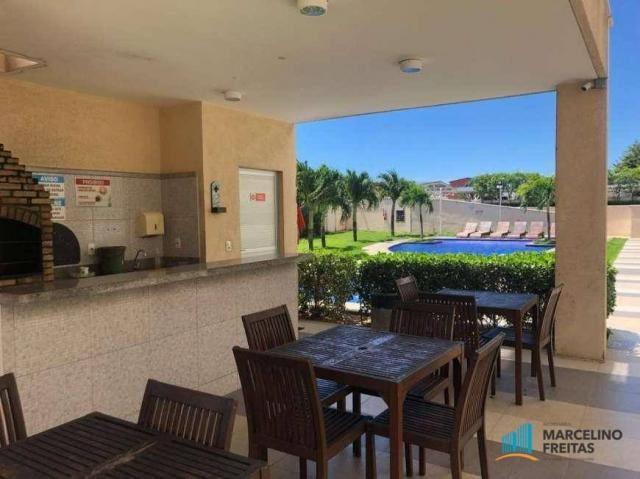 Apartamento com 2 dormitórios à venda, 54 m² por r$ 290.000,00 - jacarecanga - fortaleza/c - Foto 3