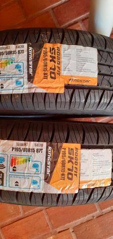 Vendo 2 pneus aro 15 zerado , 350 os 2 - Foto 4