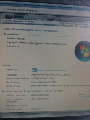 Kit pc Pentium D 4gb Ram + Notebook Leia A Descrição.!!!