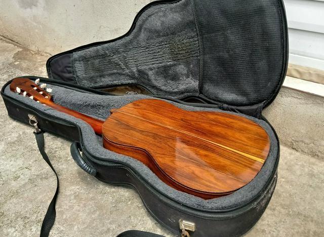 Aceito trocas por instrumentos musicais. Violão Antigo Di giogio mod 28 Classico de 1982 - Foto 4