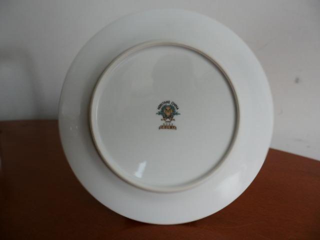 6 Pratos de Salada (Saucer Plates) Porcelana Chinesa Noritake 5032 Colby Blue - Foto 5