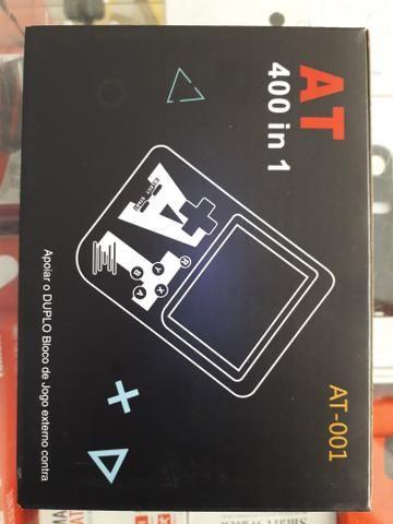 Mini vídeo game AT 400 jogos - Foto 2