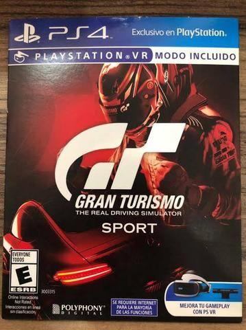 Jogo Gran Turismo ps4