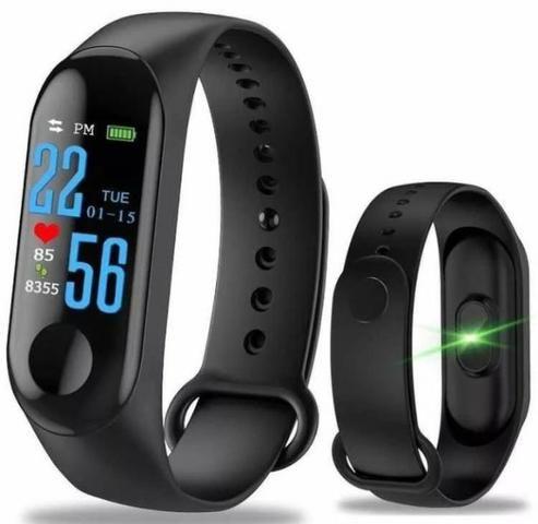 Pulseira Inteligent Monitor Cardíaco Relógio pressão etc