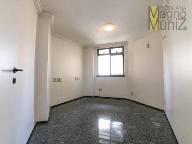 Apartamento com 4 suítes para alugar, 300 m² por r$ 2.500/ano - meireles - fortaleza/ce - Foto 6