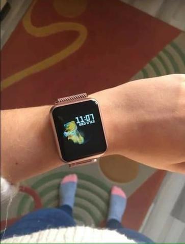 Relógio Smartwatch P70 + 2 pulseiras silicone /metal. Queima de estoque!! - Foto 2
