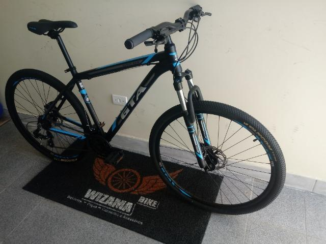 Bicicleta Aro 29 Freio Hidraulico Suspensão c\ Trava 10X S\ Juros - Foto 2
