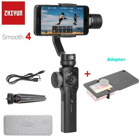 Zhiyun smooth 4 estabilizador para iphone xs xr x 8plus 8 7p 7 6s & samsung s9 s8 s7 - Foto 2