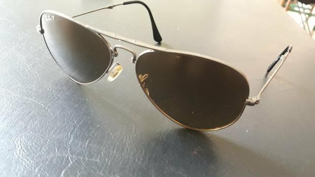 Óculos de sol Ray-ban, tamanho P, aviador, dobrável, lentes polarizadas fdb9d53c11