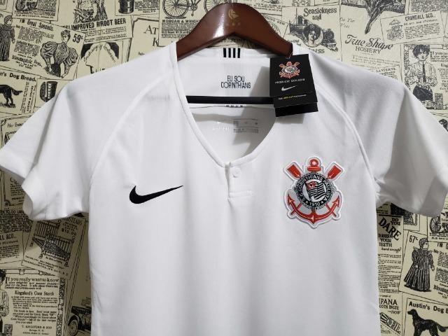 Camisa Corinthians I 18 19 Torcedor Nike Masculina Branco tamanho GGe M  únicas disponíveis 6f28950e404f8