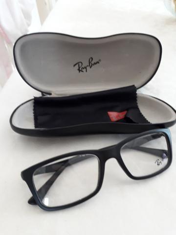 Armação de óculos de grau da marca Ray-Ban original - Bijouterias ... 38852a8dda
