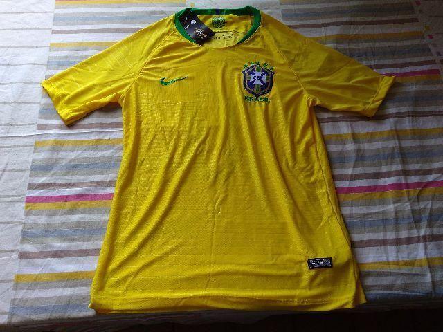 Camisa Amarela do Brasil Modelo 2018 - Esportes e ginástica - Prado ... 2a6aca6dcb094