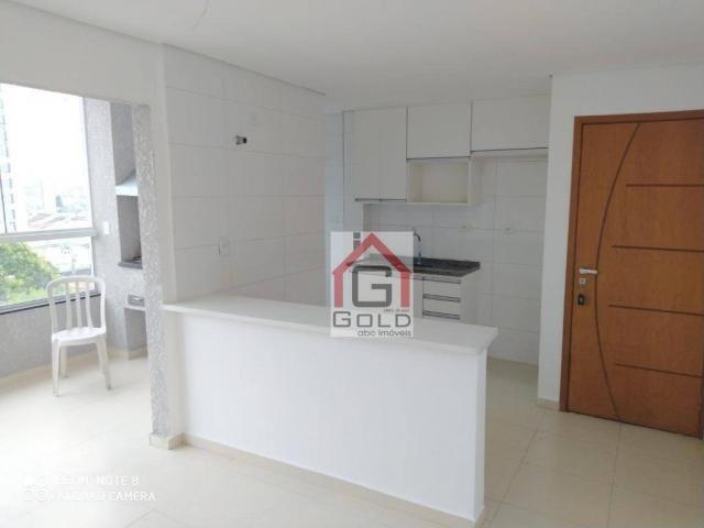 Apartamento com 3 dormitórios para alugar, 88 m² por R$ 2.000,00/mês - Campestre - Santo A - Foto 7