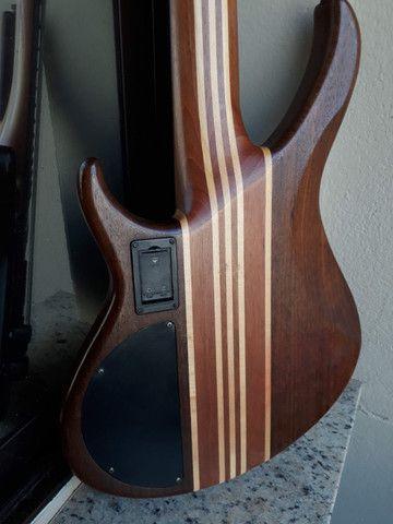 Bass Tagima Century 5(Brasil)c/ capt Bass Line parcelo cartão/ML valio troca - Foto 3