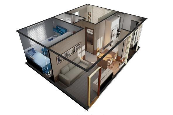 Residencial Trivialli - 40m² - Apartamento 2 quartos em Taubaté, SP - ID3913 - Foto 6