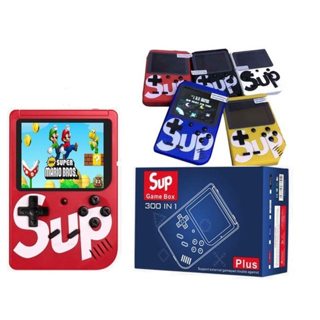 Mini Game Retro Com 400 Jogos Games Classicos , Boy Tela 3 polegadas melhor q Psp