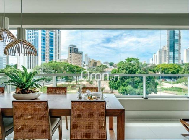 Apartamento com 5 dormitórios à venda, 382 m² por R$ 3.019.000,00 - Setor Oeste - Goiânia/ - Foto 9