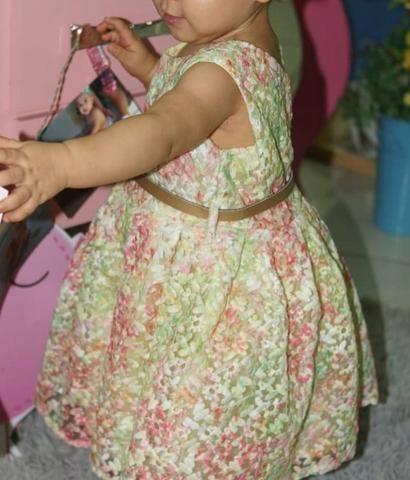 Vestido floral 2anos - Foto 2