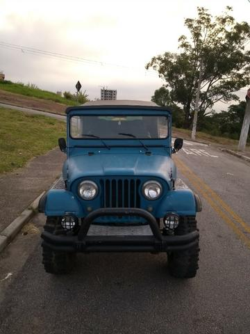 Trovão Azul Terrestre Jeep Willys CJ5 - Foto 7