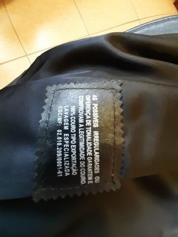 Blazer em couro legítimo - Foto 4