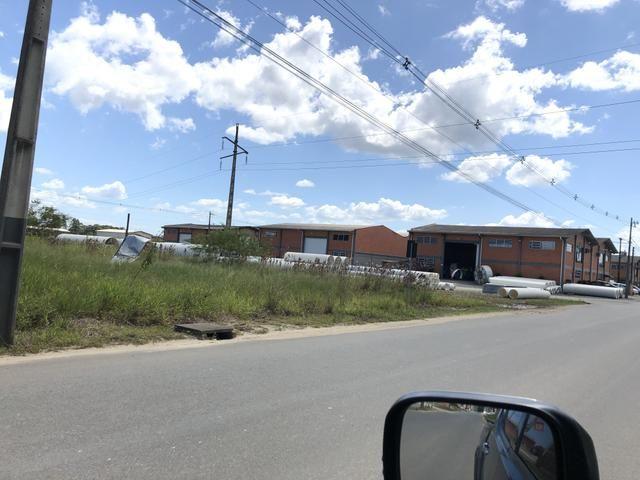 Terreno indústrial ideal para galpão,quadra de futebol society em Araquari - Foto 3