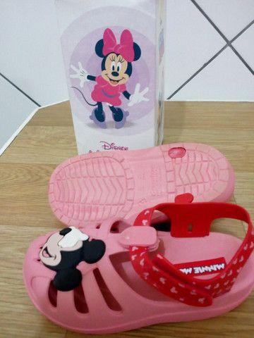Sandália infantil tamanho 25 - Foto 2
