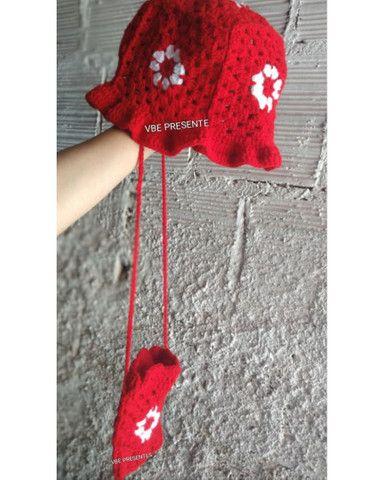 Bucket / chapéu de croche  - Foto 3