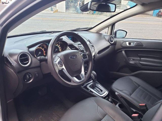 Ford Fiesta 1.6 Titanium 2015 Sedan. Um Dos Mais Novos De Campina - Foto 16