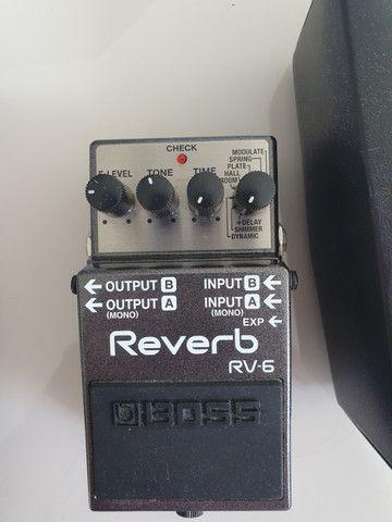 Pedal reverb rv6-Boss - Foto 4