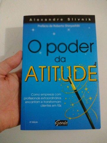 Livro Poder Atitude Empresa Clientes Leitura Auto Ajuda  - Foto 2