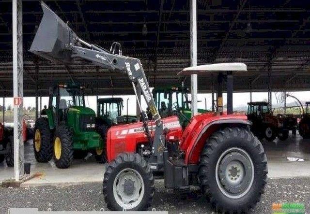 Trator Massey Ferguson 275 4x4 ano 05