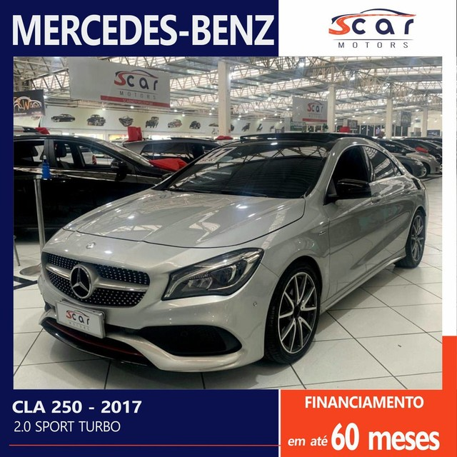 CLA 250 2.0 SPORT 16V TURBO 2017