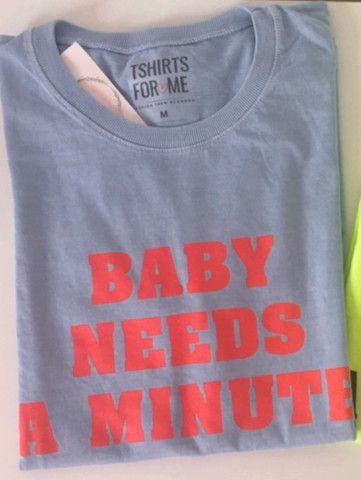 Blusa feminina camiseta T-shirt 100% Algodao