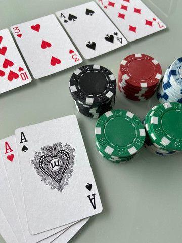 Maleta de Poker 200 Fichas - Foto 2