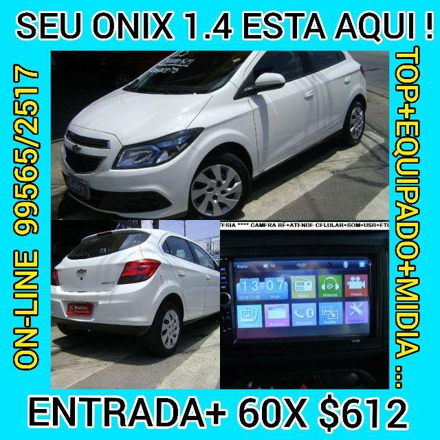 Chevrolet Onix 2013 1.4flex completo ar condicionado laudo aprovado baixa km - Foto 11