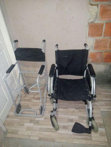2 cadeiras de rodas novas 1000 mil reais - Foto 2
