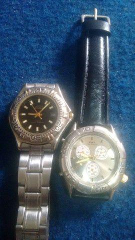 TORRO; Dois Relógios Por R$ 65.00, MOHAWK & TECHNOS, Funcionando Perfeitamente - Foto 6