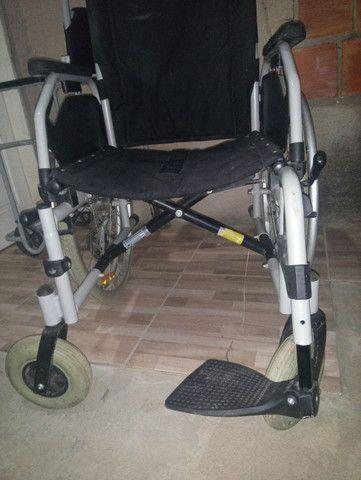 2 cadeiras de rodas novas 1000 mil reais - Foto 5