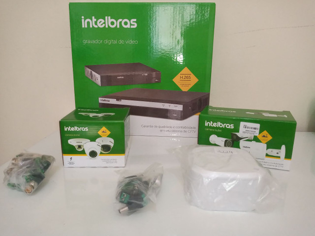 DVR Intelbras 4ch